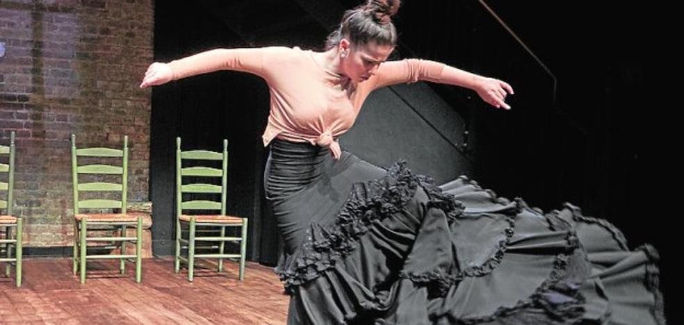 Flamenco murciano en el Cervantes Theatre