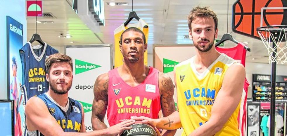 El UCAM elige el amarillo para su tercera equipación