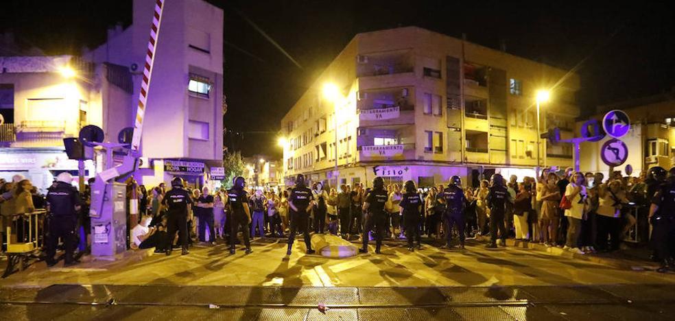 La Delegación niega que hubiera carga policial en el desalojo de los manifestantes