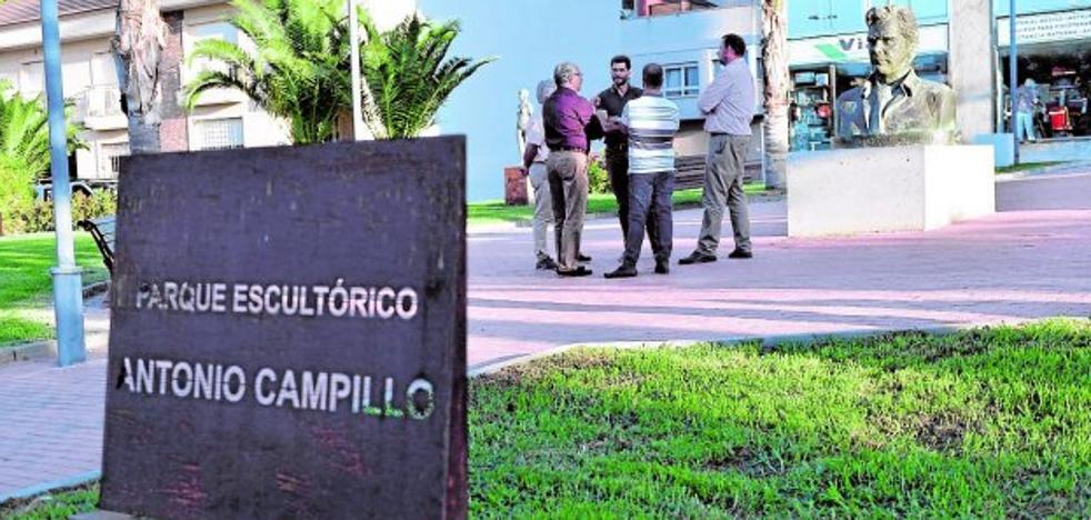 Mejorarán la iluminación del Parque Escultórico Antonio Campillo