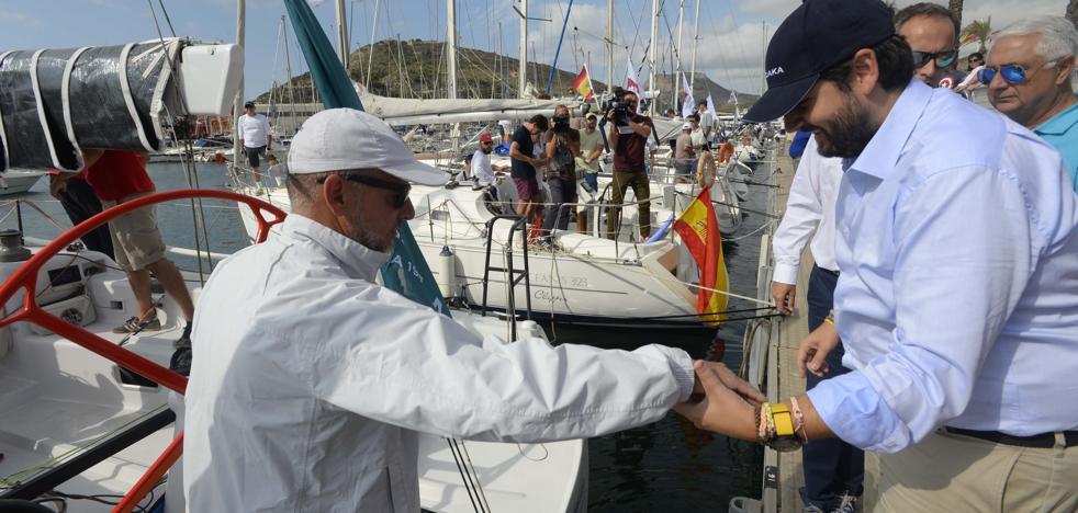 Arranca la II Regata Punta Este con la participación de López Miras