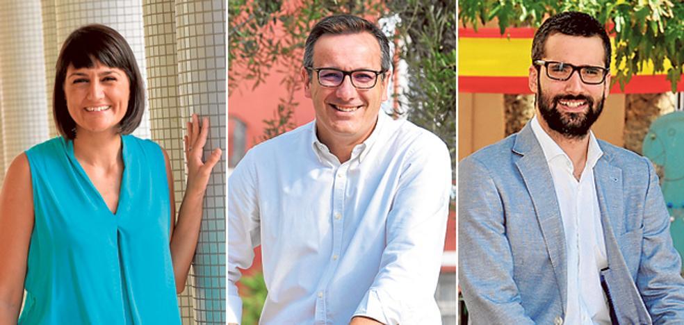 Los tres aspirantes a liderar el PSRM responden al cuestionario de 'La Verdad'