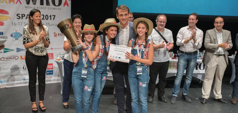 Un equipo murciano, ganador de la final nacional de las olimpiadas de robótica