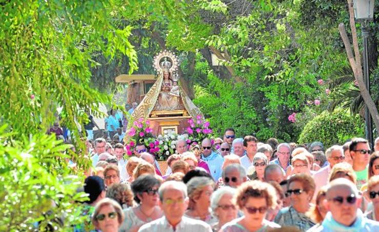 La Virgen de las Huertas ya está en la Colegiata de San Patricio