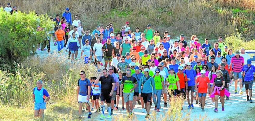 550 senderistas y 30 pilotos en las 'Olimpiadas lorquinas'