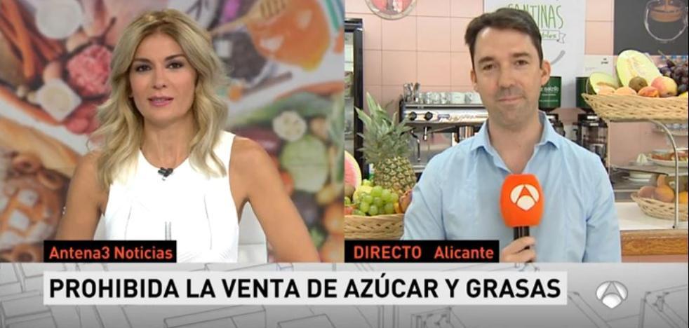 Confusión en Antena 3 dando una noticia sobre Murcia