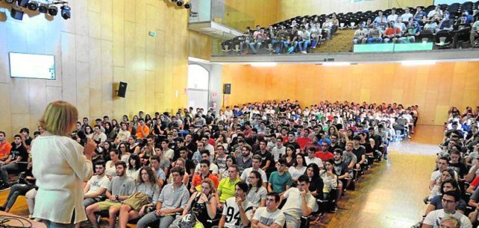 Quinientos alumnos de nuevo ingreso empiezan su adaptación a la UPCT