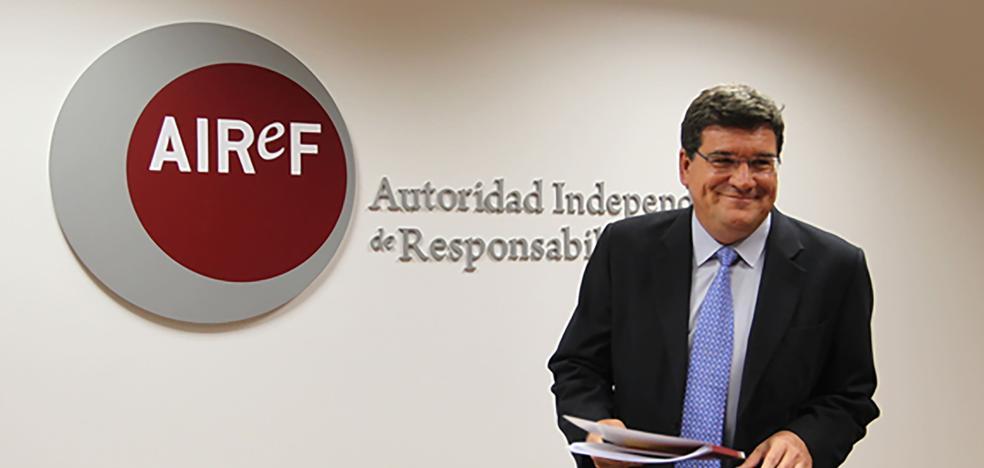 La AIReF ve «muy improbable» que la Región cumpla el objetivo de déficit para 2017