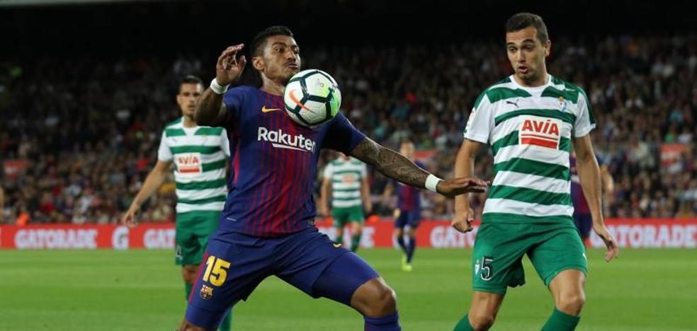 Paulinho anota el segundo del Barça