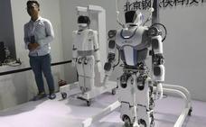 Desarrollan un material equivalente al músculo humano para robots