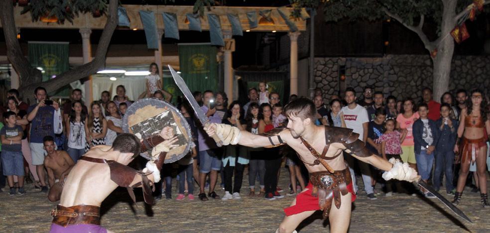 Feriae Latino en el campamento