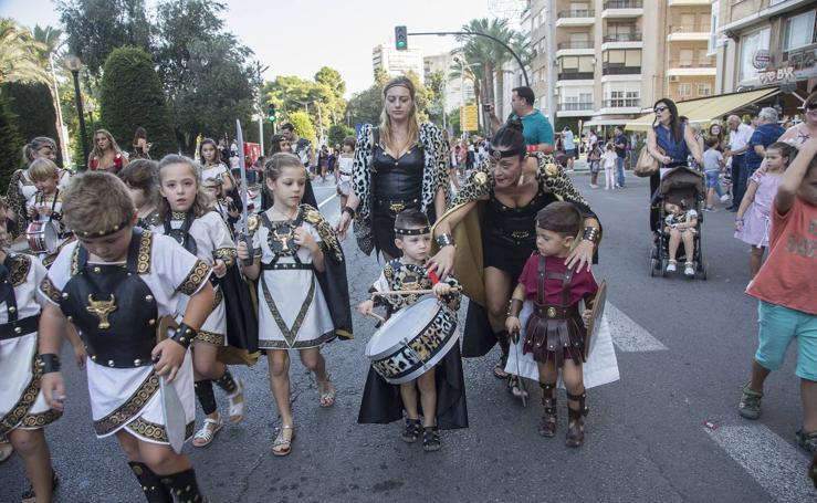Una camada de guerreros novatos