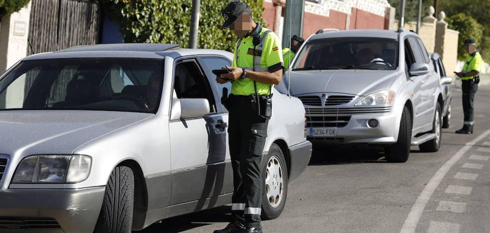 Multa para 200 murcianos por no llevar el cinturón de seguridad