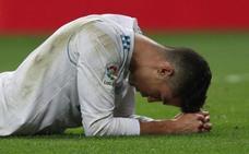 El Real Madrid se apaga con Cristiano
