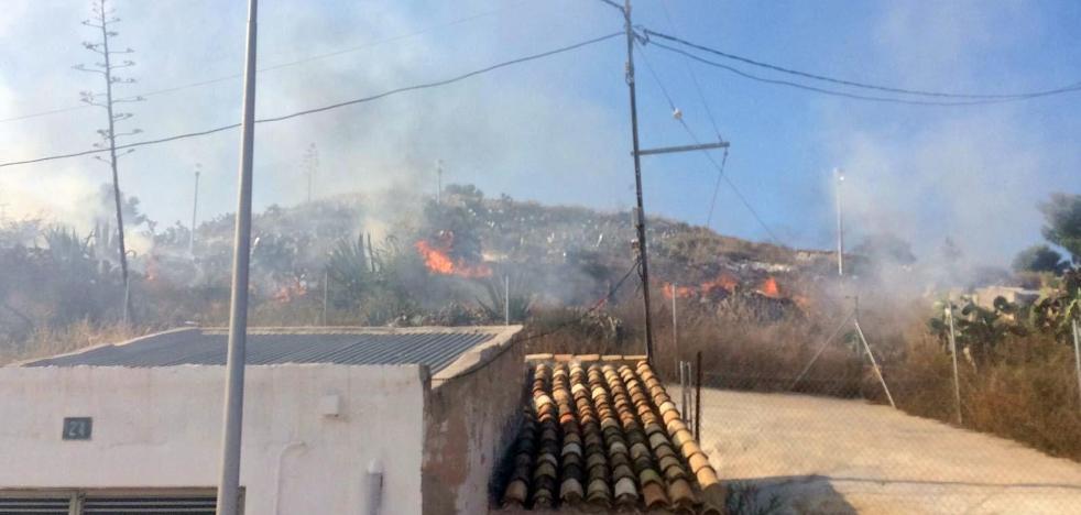 Declarados en Yecla tres incendios en apenas dos horas