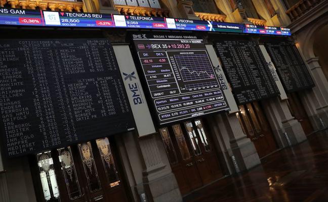 El Ibex pierde los 10.300 puntos con la presión de ACS, Inditex, CaixaBank y Sabadell