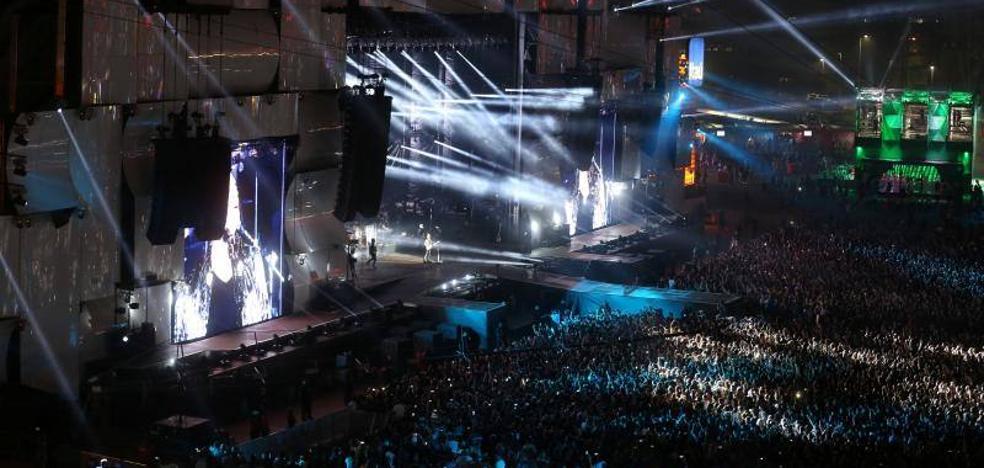 Los macrofestivales sostienen la música