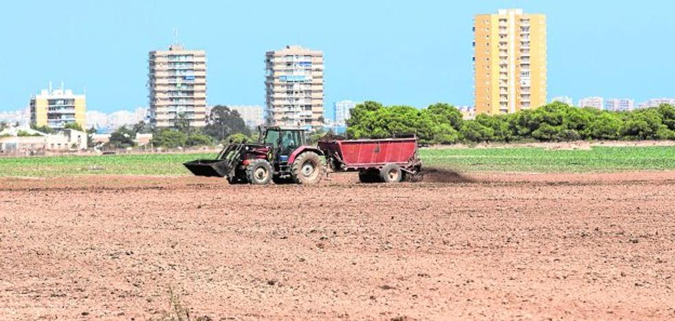 Vecinos, turistas y hosteleros del Mar Menor denuncian molestias por los abonos agrícolas
