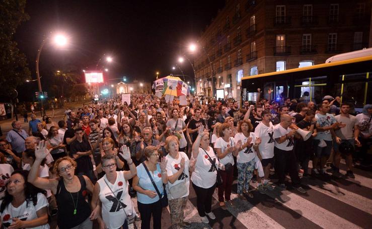 La protesta por el soterramiento llega el miércoles a la Gran Vía