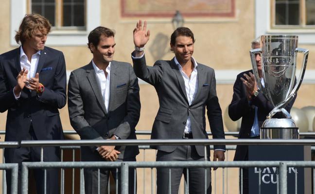 Nadal y Federer lideran a Europa en la Ryder Cup del tenis