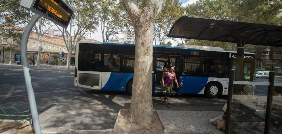 Los autobuses urbanos son gratis hoy y mañana