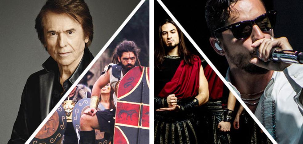 Carthagineses, romanos metaleros y luchadores dan la bienvenida al otoño