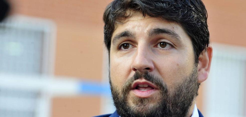 López Miras insiste en que el soterramiento en la llegada del AVE a Murcia «es una realidad sí o sí»