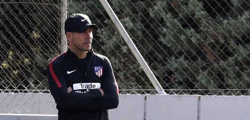 Simeone: «Costa no está con nosotros, sólo me importa el Sevilla»