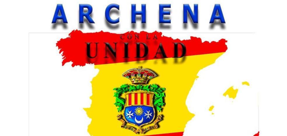 Archena organiza un izado de bandera «por la unidad de España»
