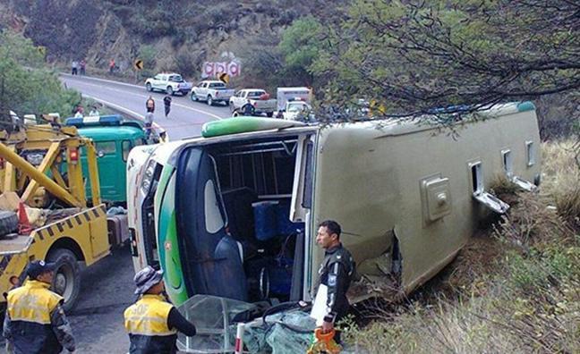 Un accidente de autobús deja 13 muertos y 28 heridos en Ecuador