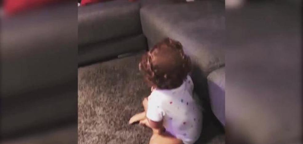 El divertido vídeo de la hija de Malena Costa