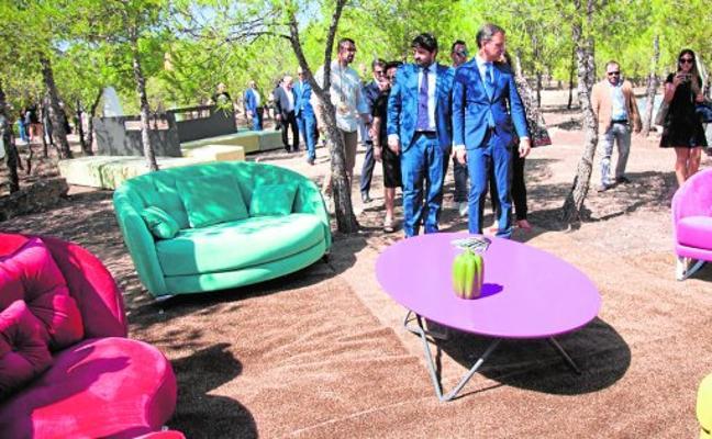 La Feria del Mueble abre los diseños a la naturaleza