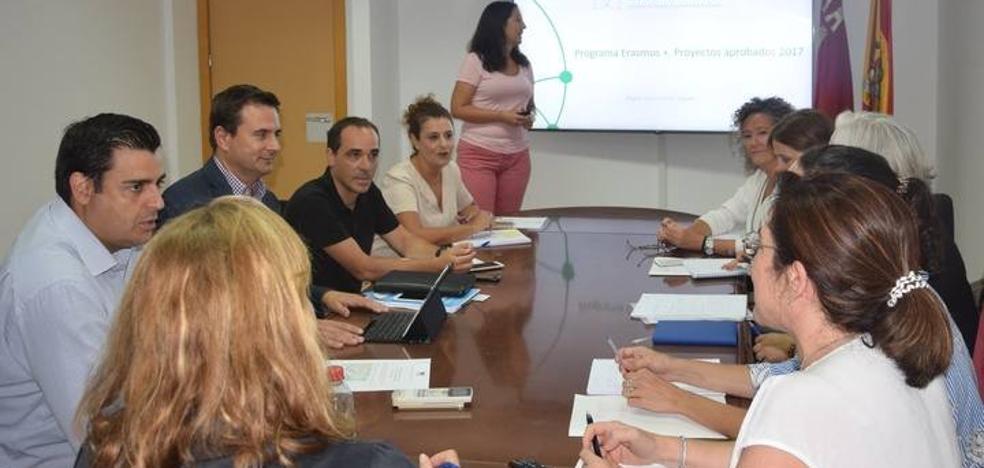 La Región, líder de un proyecto europeo para la formación de desempleados