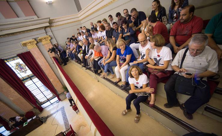 La oposición aprueba la moción para que el AVE llegue a Murcia una vez se hayan soterrado las vías