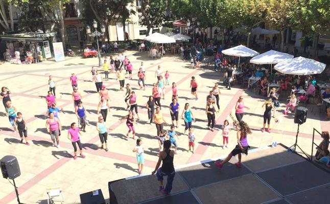 Travesía de montaña, Creasport y 'Fitness Day' protagonizan el fin de semana