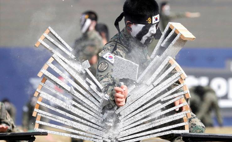 Exhibición de Fuerzas Especiales