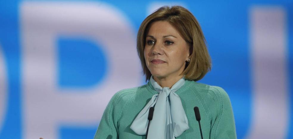 Cospedal presidirá la Junta Directiva que elegirá a López Miras como presidente del PP en Murcia