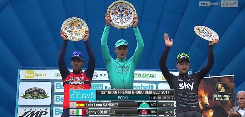 Luis León gana en solitario el GP Bruno Beghelli