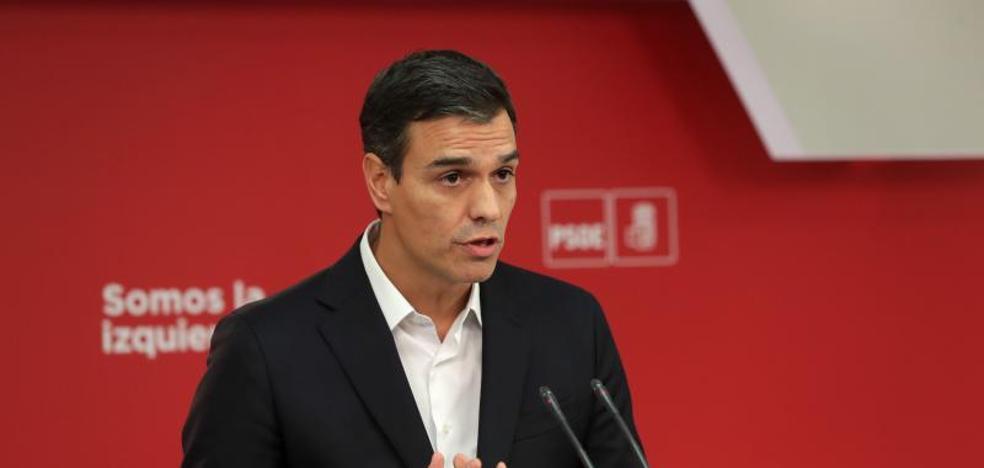 Sánchez avisa a Rajoy de que «el tiempo de la inacción se ha acabado»