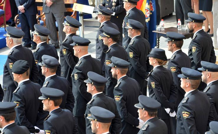 Lorca acoge la celebración del Patrón de la Policía Nacional