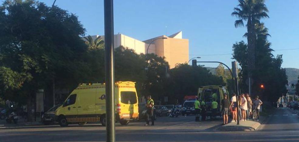 Dos peatones atropellados en menos de media hora en la Avenida Primero de Mayo de Murcia