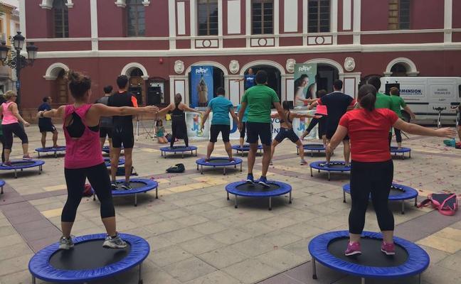 Los Juegos del Guadalentín se ponen en forma con el 'fitness day'