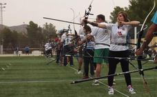 Sesenta arqueros toman parte en el Campeonato Regional celebrado en los Juegos del Guadalentín