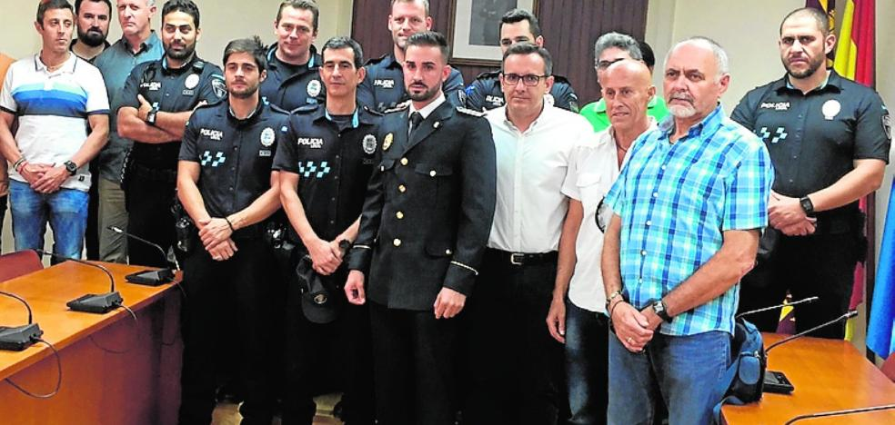 Un nuevo mando para poner paz en la Policía Local de Alhama