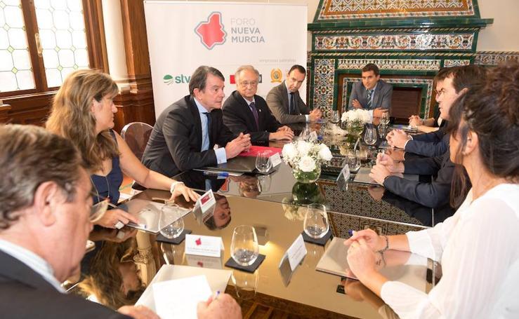 Antonio Catalán, en el Foro Nueva Murcia