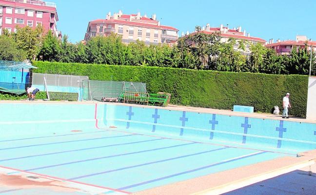 La nueva piscina olímpica estará concluida en febrero