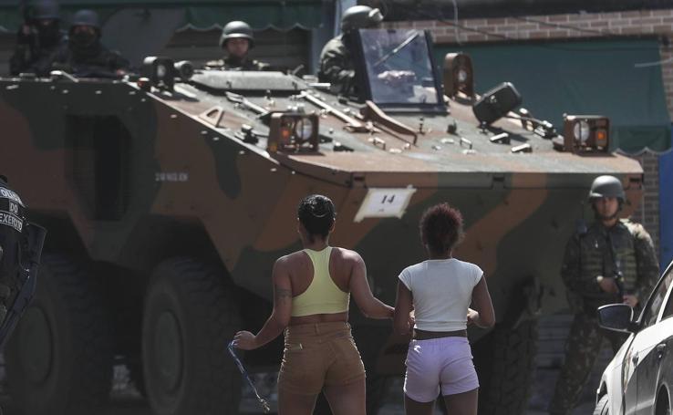 Megaoperativo contra los 'narcos' de Río
