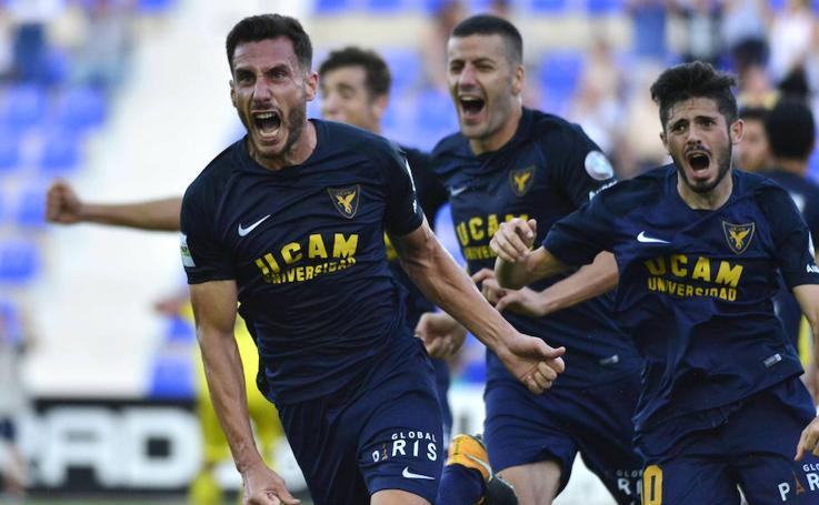 Zarpazo del UCAM en un derbi gris ante el Lorca Deportiva (1-0)