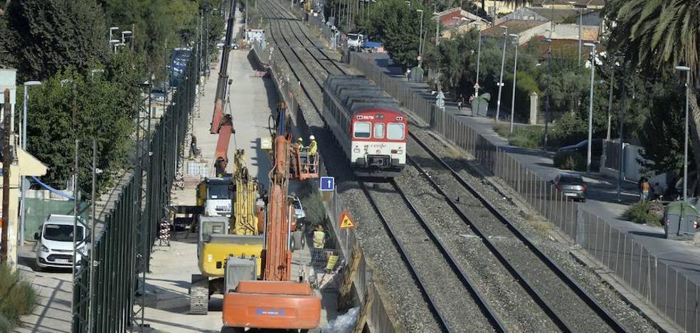 Adif propone adelantar las obras de soterramiento en Murcia