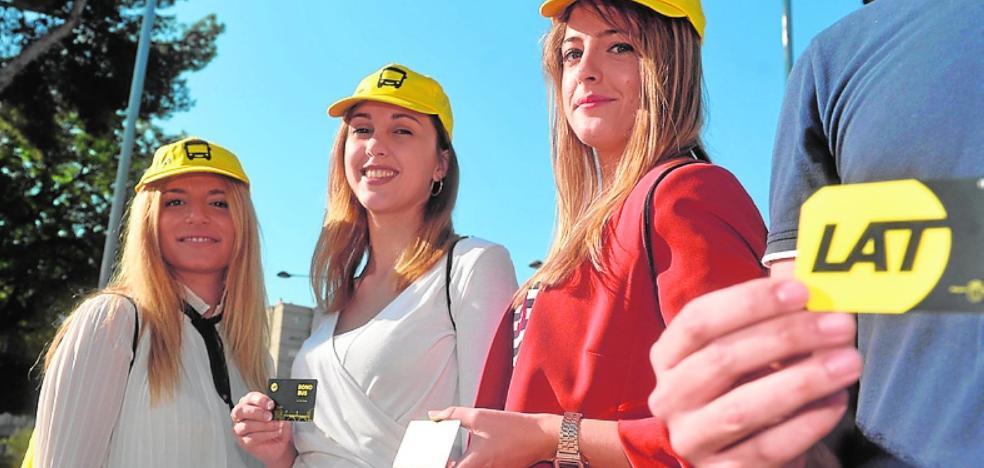 50.000 alumnos y profesores tendrán descuentos por ir en bus a los campus